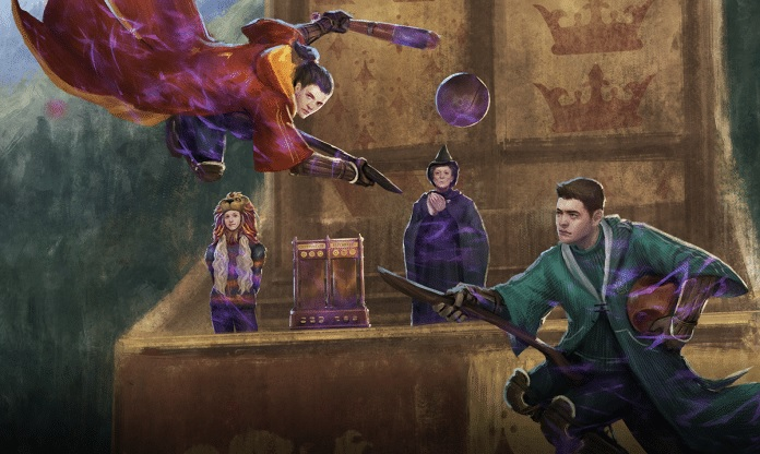 """A graphic for Part 2 of the """"Wizards Unite"""" Quidditch Cup Brilliant Event is pictured."""
