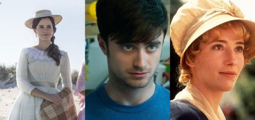 "Emma Watson in ""Little Women"", Daniel Radcliffe in ""What If"", and Emma Thompson in ""Sense and Sensibility"""