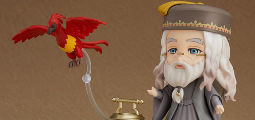 This is a featured image of the Nendoroid Albus Dumbledore from Good Smile Company.
