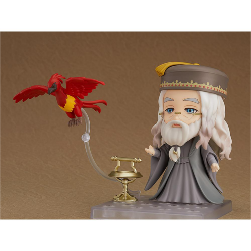 The Nendoroid Albus Dumbledore from Good Smile Company is pictured.