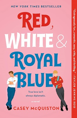"""Cover image of """"Red, White & Royal Blue"""""""