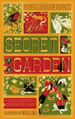 """Cover image of """"The Secret Garden"""" illustrated by MinaLima"""