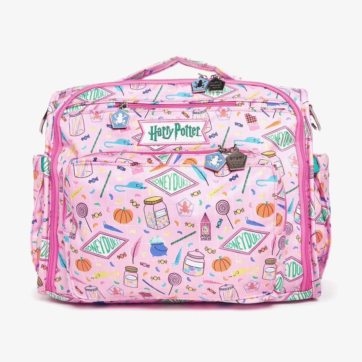 The Honeydukes BFF bag has seven interior pockets and insulated side pockets.