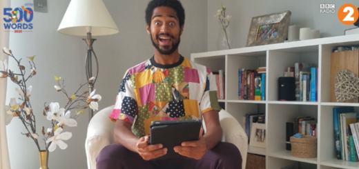 Alfred Enoch reading a winning story from the 500 Words Competition