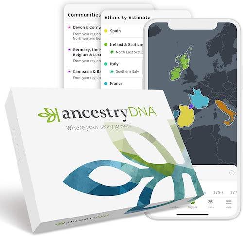 Ancestry DNA test
