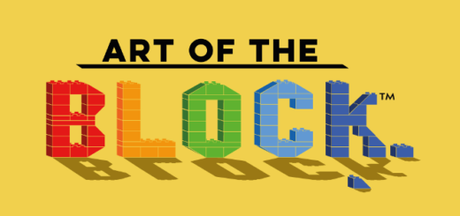 The logo for MinaLima's Art of the Block contest is pictured.
