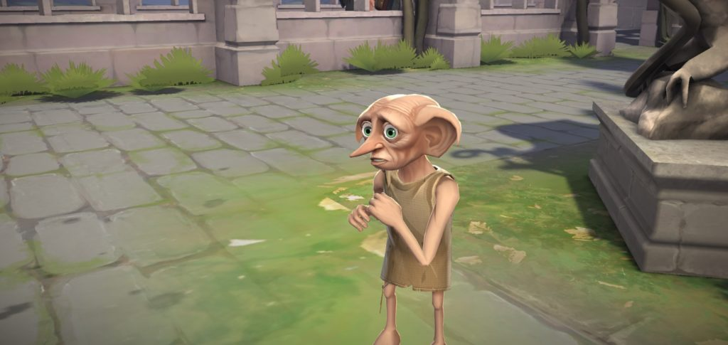 """We're introduced to Dobby in """"Hogwarts Mystery""""."""