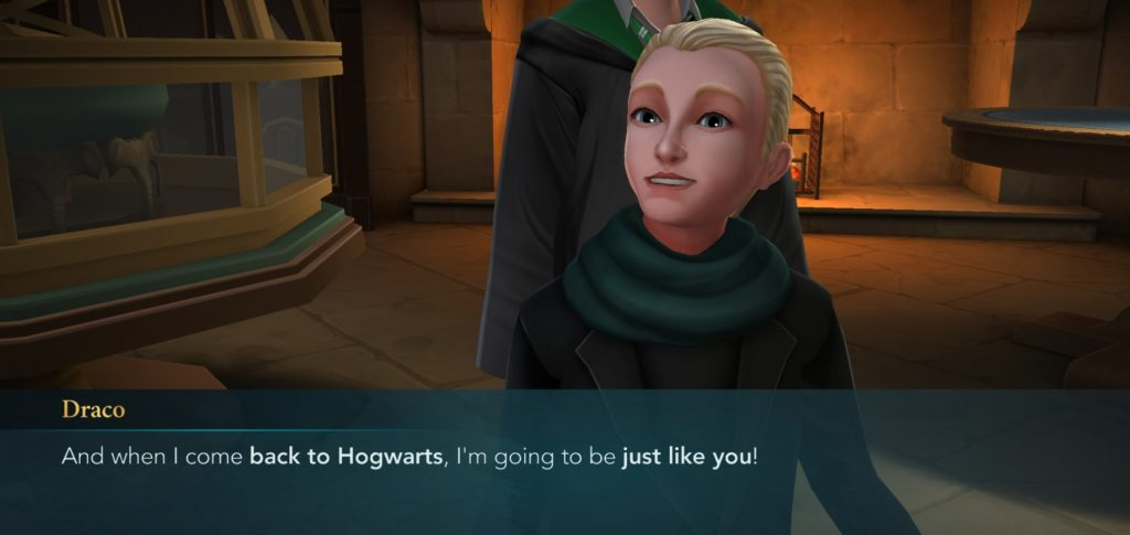 Draco Malfoy wants to be just like us, but we're taking no responsibility for that.