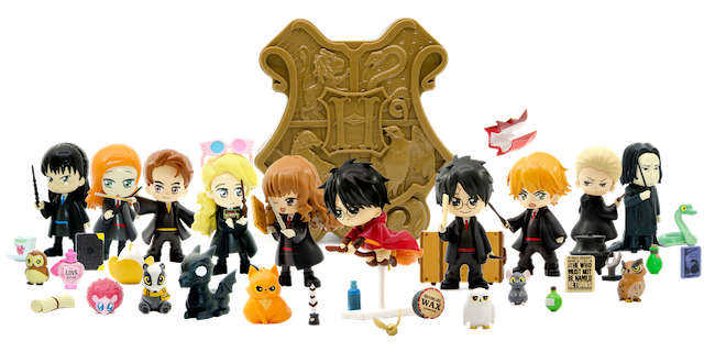 An image of YuMe's new Harry Potter Magical Capsules.