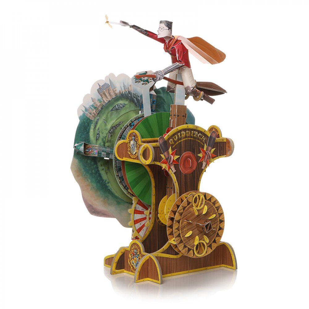 The Harry Potter: Moving Mechanical 3D Puzzle from Merchoid is pictured.