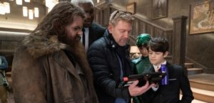 """This is a photo during the filming of """"Artemis Fowl""""."""