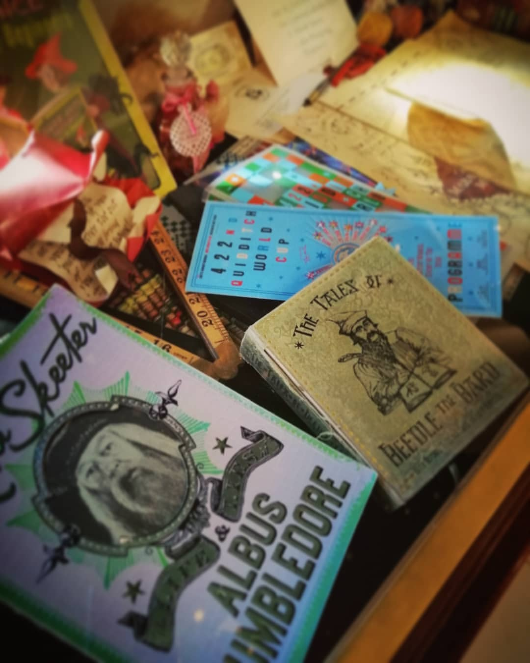 Surrounded by all these items, you can almost touch magic in the air in MinaLima's gallery.