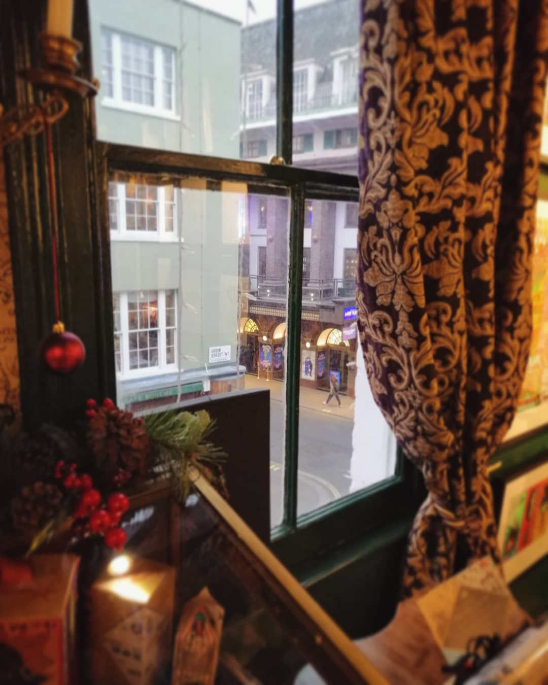 The view of Soho's streets from House of MinaLima makes the visitor feel like they stepped into a hidden, magical world.