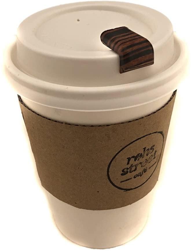 Rubber coffee stopper