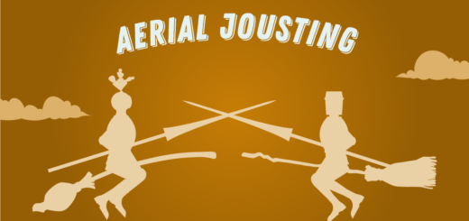 Aerial Jousting Wizolympics