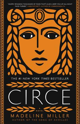"The book cover for the #1 ""New York Times"" bestseller ""Circe"" by Madeline Miller"