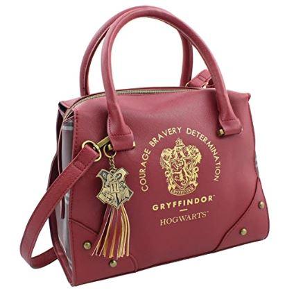 red designer-handbag-style Gryffindor purse