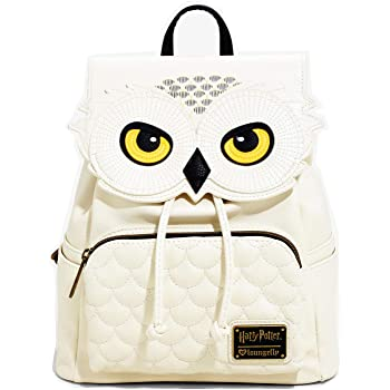 white Hedwig backpack