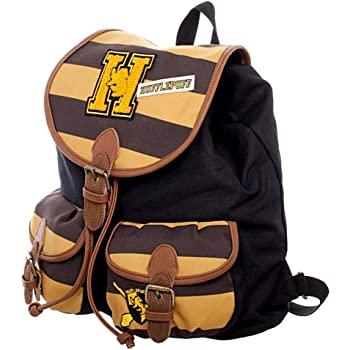 Hufflepuff varsity-style backpack