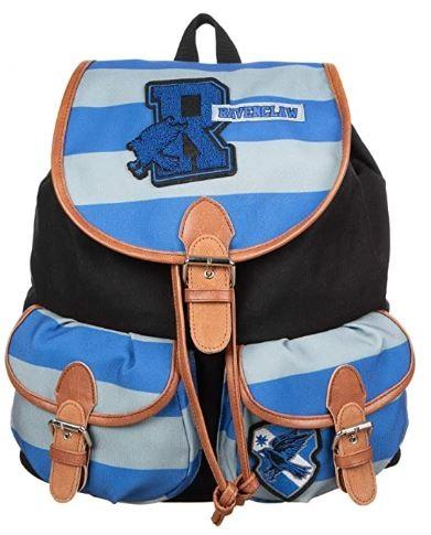 Ravenclaw varsity-style backpack