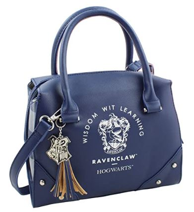 blue designer-handbag-style Ravenclaw purse