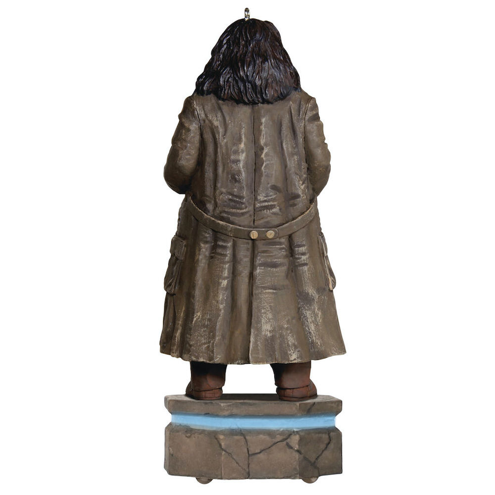 Unlike the other ornaments in this release, the Hagrid ornament will be released in July.