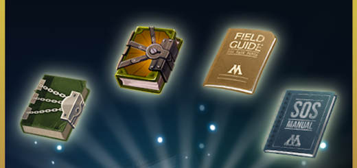 "An image of some of the Field Guides available in the ""Harry Potter Wizards Unite"" update."
