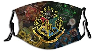 Harry Potter face mask with Hogwarts crest