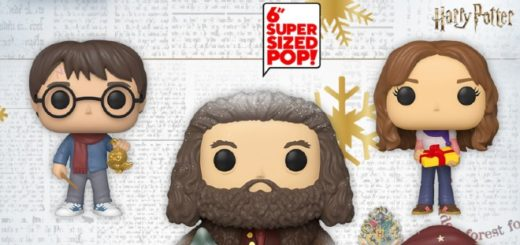 Holiday Funko Pop! figures for 2020 are pictured.