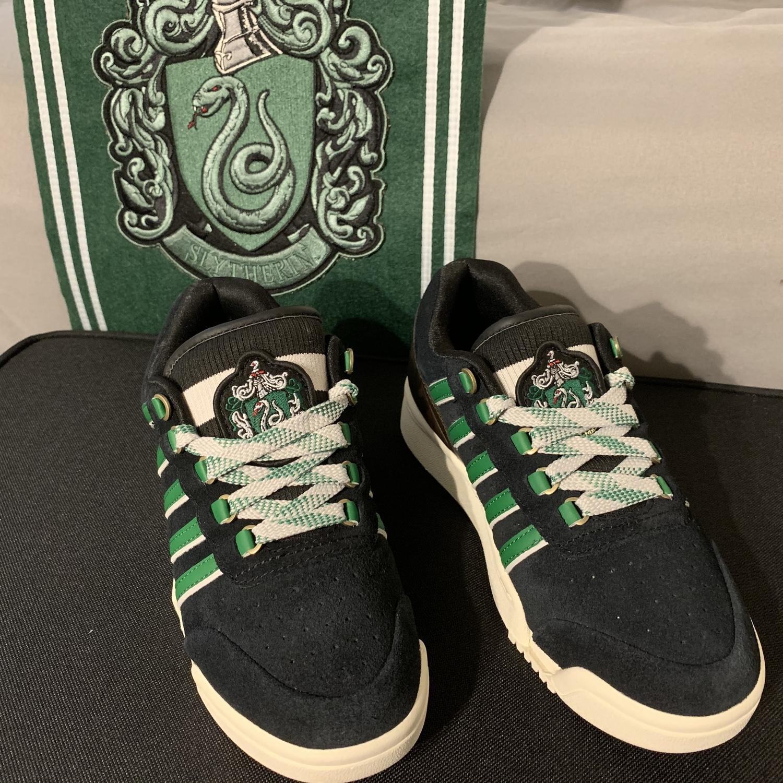 K-Swiss sneakers, top view