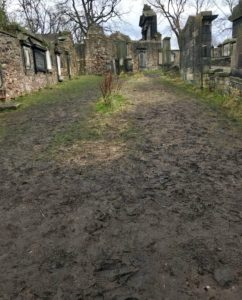 Greyfriars Kirkyard is pictured.