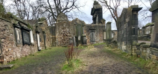 A picture of Greyfriars Kirkyard is pictured.