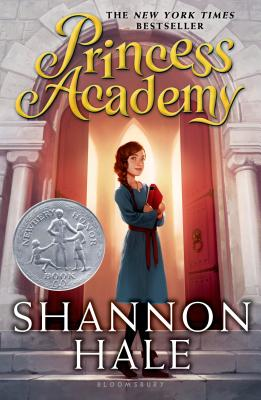 "The book cover for ""Princess Academy"", which is the first novel in ""The Princess Academy"" trilogy by Shannon Hale."
