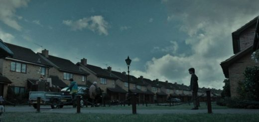 Harry watches as the Dursleys are leaving Privet Drive in Deathly Hallows Part 1
