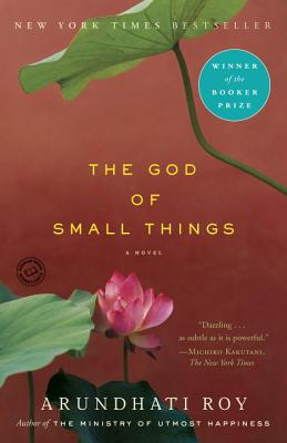 "The book cover for ""The God of Small Things"" by Arundhati Roy."