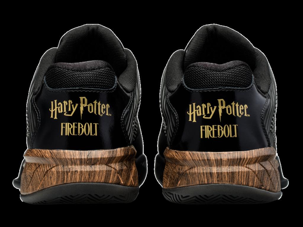 Heel of Firebolt shoes
