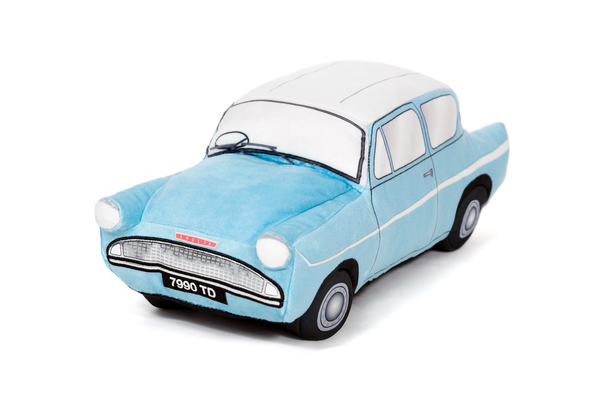 This Ford Anglia may not have an invisibility booster, but it sure is cozy.