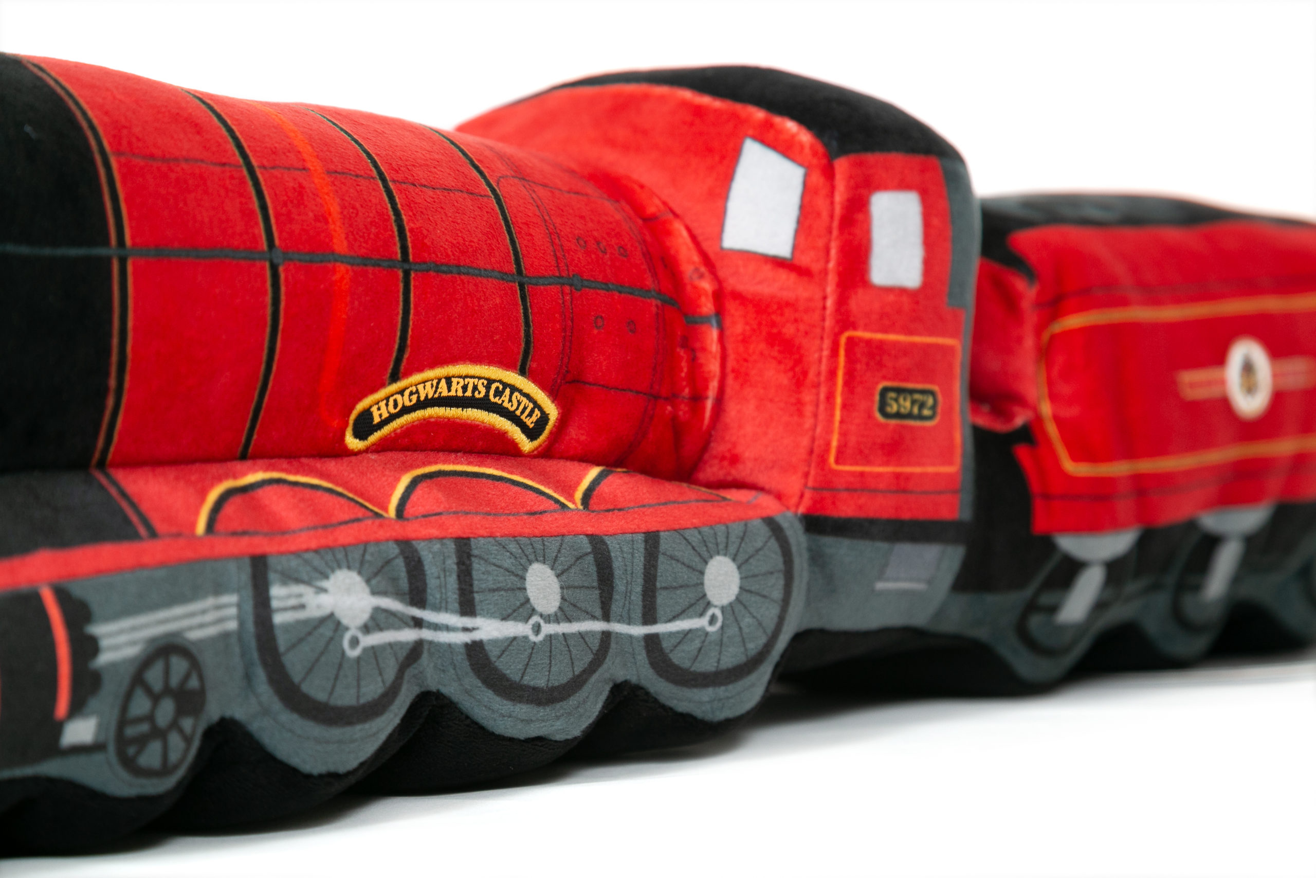 Check out all the amazing details on the side of the train!