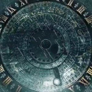 """The Hampton Court Astronomical Clock which appears to be in """"Troubled Blood"""""""
