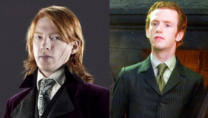 Bill and Percy Weasley are two students who got 12 OWLS