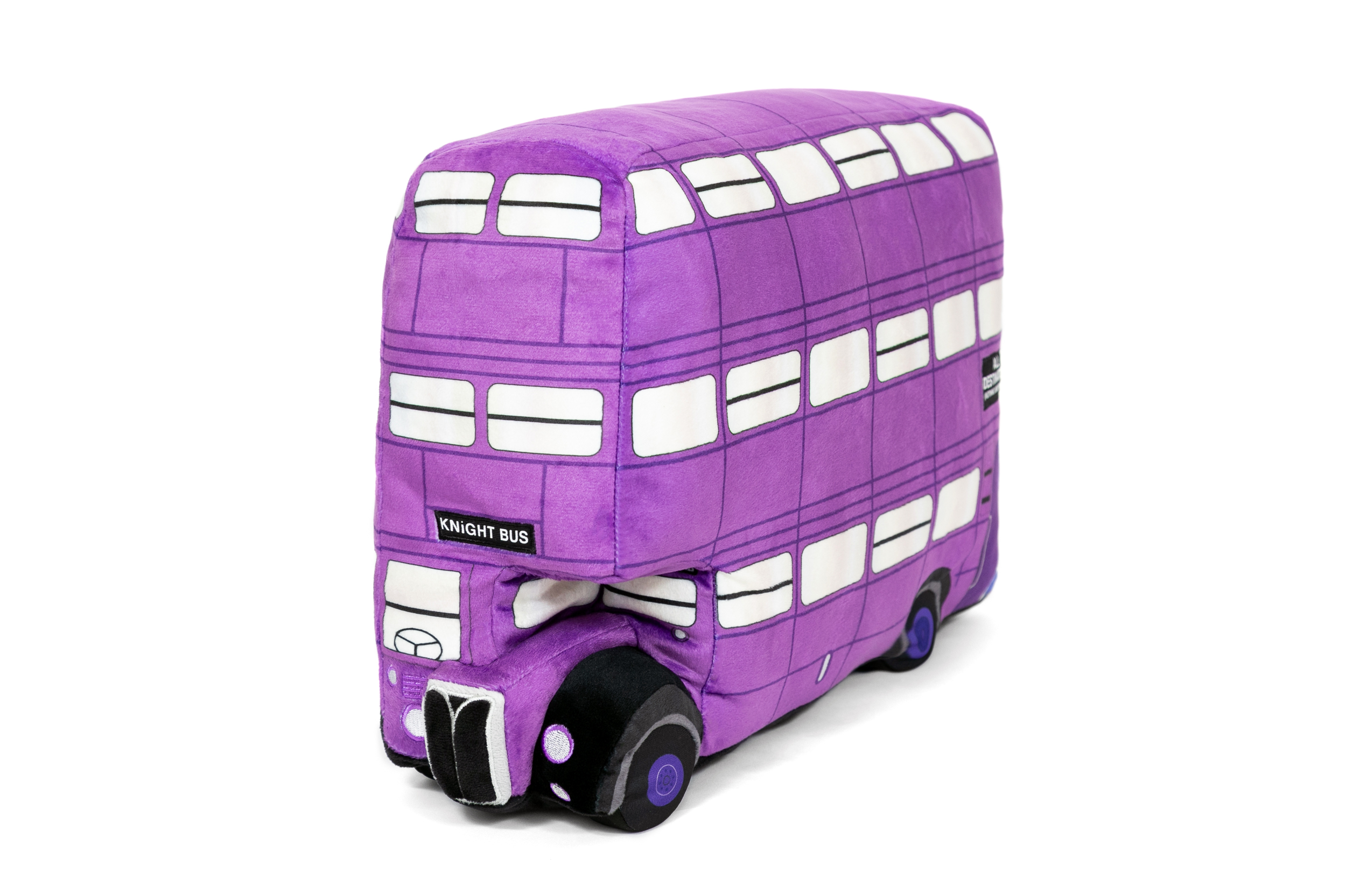 This plush toy is bound to be much more comfortable than a ride on the bumpy Knight Bus.