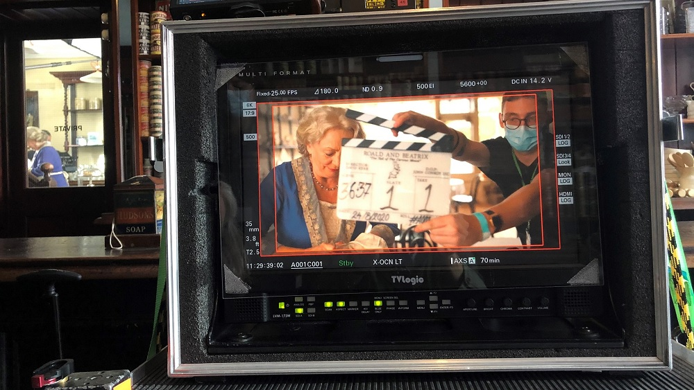 "Filming has begun on ""Roald & Beatrix""."