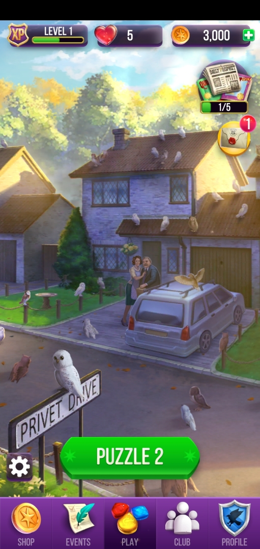 "Vernon and Petunia Dursley star in their own version of ""The Birds"" on Privet Drive."