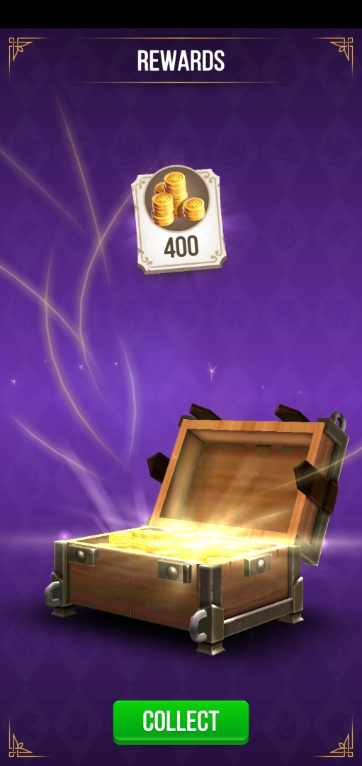 Successfully opening treasure chests while solving puzzles results in free gold.