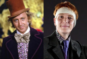 Fan theory that George Weasley grows up to be Willy Wonka