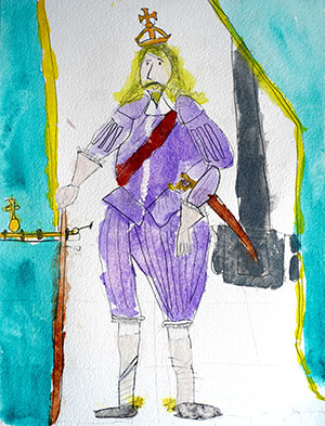 """Pictured is an illustration for the United Kingdom edition of """"The Ickabog"""" by Kit, 7, of the UK."""