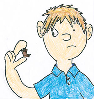 """Pictured is an illustration for the United States edition of """"The Ickabog"""" by Cormac, 11, of Ontario, Canada."""