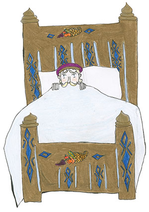 """Pictured is an illustration for the United States edition of """"The Ickabog"""" by Isla, 11, of New York."""