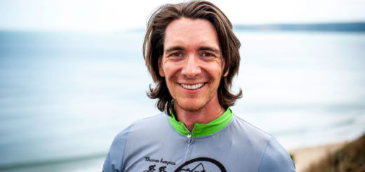 James Phelps in his cycling gear.
