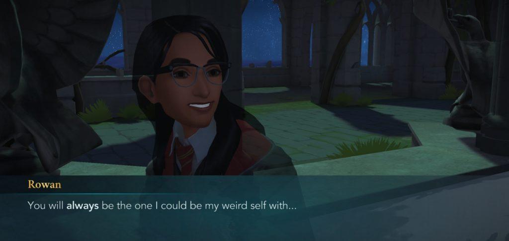 """Rowan Khanna reminisces about her weird self in """"Hogwarts Mystery""""."""